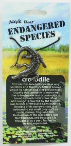 Crocodile Pendant Necklace