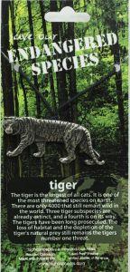 Tiger Pendant Necklace