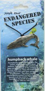 Humpback Whale Pendant Necklace