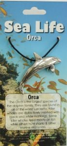 Orca Pendant Necklace