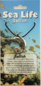 Sail Fish Pendant Necklace