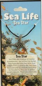 Sea Star Pendant Necklace.
