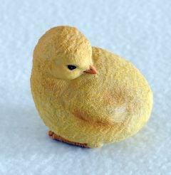 Yellow Chick Figurine