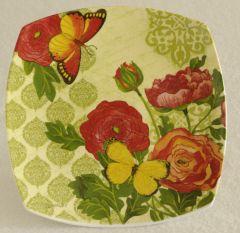 Botanica & Butterfly Plate