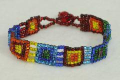 Mayan Beaded Bracelet