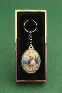 American Elk Keychain
