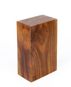 Wood Display Pillar (Smooth Cut, Rectangular)