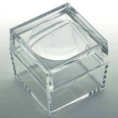 Clear Lucite Magnifying Box (Small)