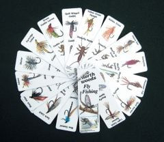 Fly Fishing (Aquatic Insects) Keychain Identification Guide