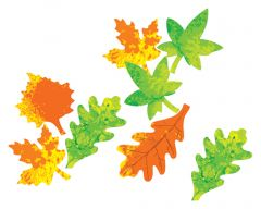Color Diffusing Leaves (4 designs, 80 leaves total)