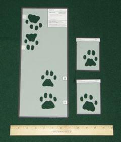 Bobcat Tracking Stencils