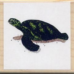 Turtle (Green Sea) Rubber Stamp