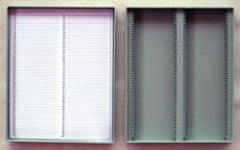 Microscope Slide Storage Box (Holds 100 Slides)
