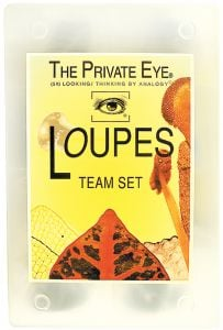 Private Eye® Loupe Magnifier Team Set (6 Loupes)