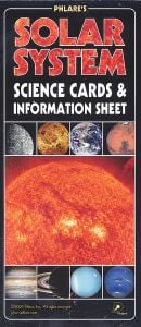 Solar System Science Cards