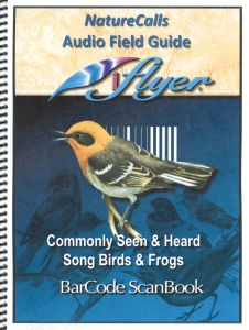 Nature Calls Audio Field Guide: Barcode Scanbook for Birds and Frogs