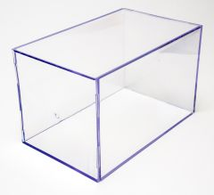 """Clear Display Case """"F"""" (Large Rectangular)"""