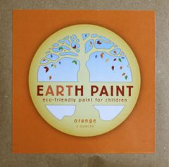 Earth Clay Paint Packet: Orange