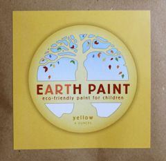 Earth Clay Paint Packet: Yellow