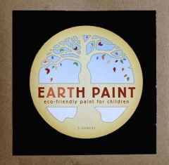 Earth Clay Paint Packet: Black