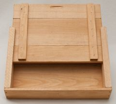 Wooden Slide-Top Storage Box (12