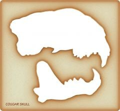 Cougar Trace-A-Skull® Template
