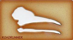 Roadrunner Trace-A-Skull® Template