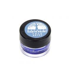 Earth Clay Face Paint Jar: Blue