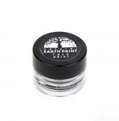 Earth Clay Face Paint Jar: Black