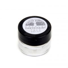 Earth Clay Face Paint Jar: White