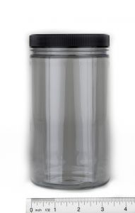 Specimen Jar (Clear Unbreakable Plastic, 32 Fluid Ounces)