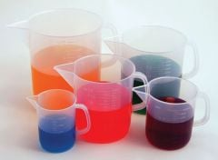 Handled Beaker Collection (Discounted Set of 5 Sizes)