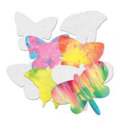 Color Diffusing Butterflies (4 designs, 48 butterflies total)