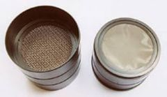 Professional Grade Screen Soil Sieves (Set of Four Sieves)
