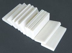 Streak Plates (White, Pack of 10)