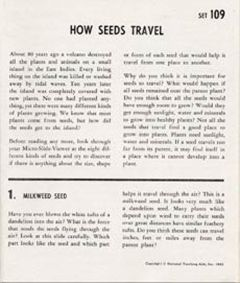 How Seeds Travel (Microslide® Lesson Set)