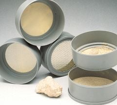 Professional Grade Screen Soil Sieves (Set of Six Sieves)