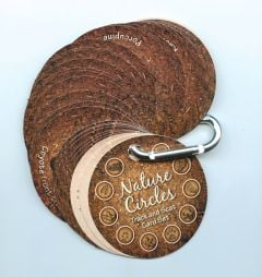Nature Circles® Track/Scat Cards (North American Mammals)