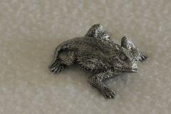 California Coastal Horned Lizard Sculpture (2