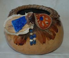 Lapis Gourd Basket