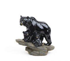 Bear & Cubs Stonecast™ Sculpture