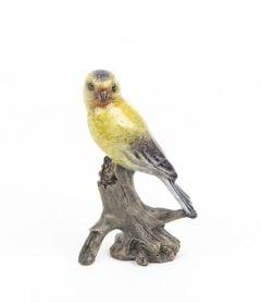 Goldfinch Stonecast™ Sculpture