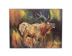 Elk Wall Canvas
