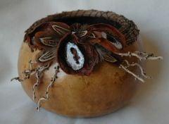Geode Gourd Basket