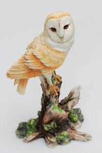 Barn Owl Veronese® Sculpture