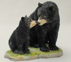 Black Bear and Cub Veronese® Sculpture