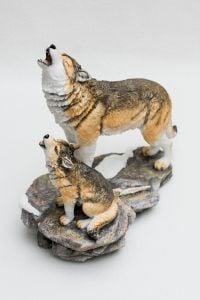 Howling Wolves Veronese® Sculpture