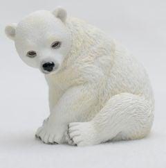 Polar Bear Cub Veronese® Sculpture