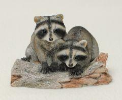 Raccoons Veronese® Sculpture