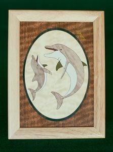 Dolphin Wood Box (6